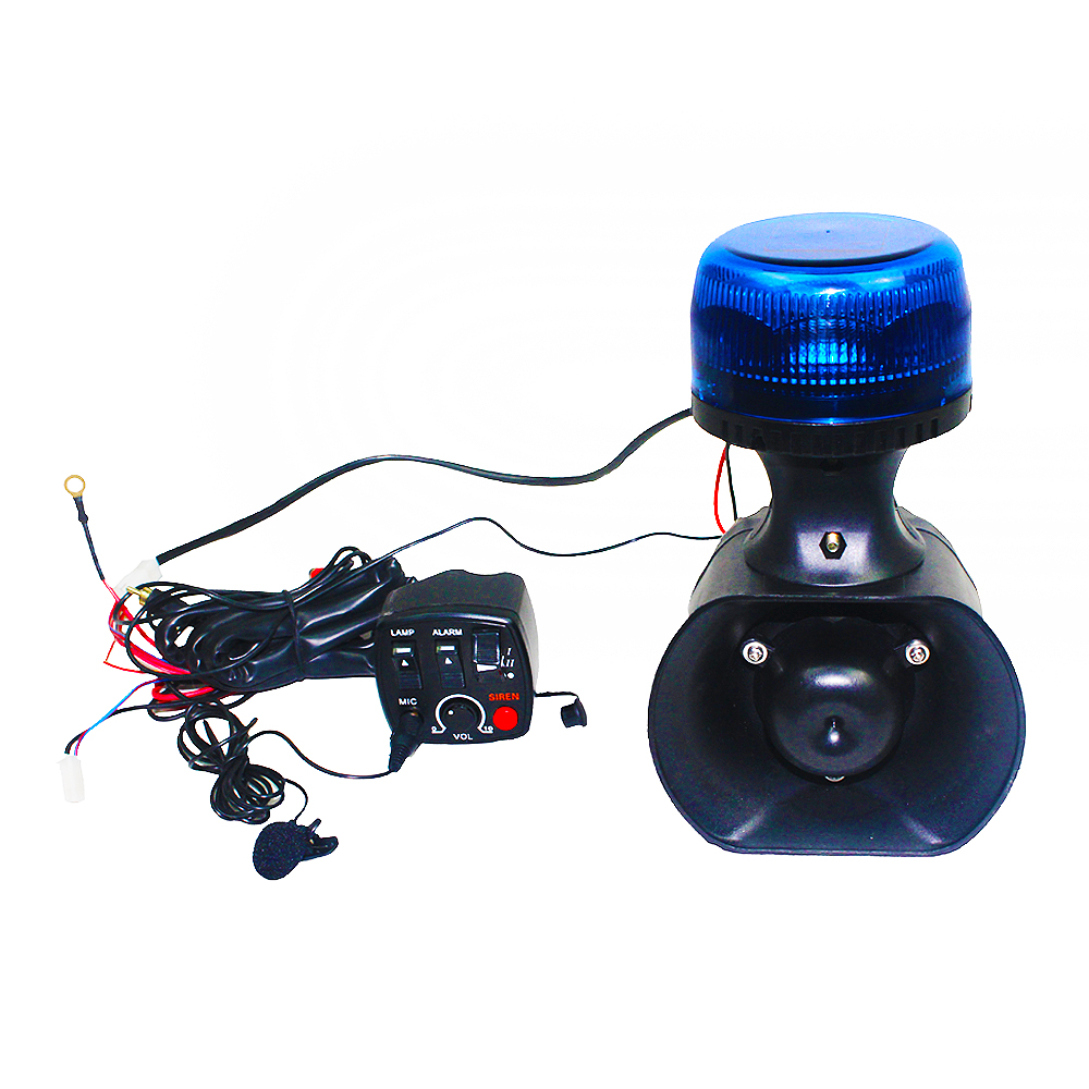 Motorcycle Speaker with Light System